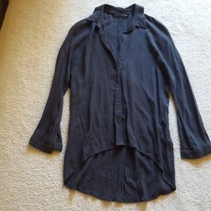 Zara - worn once dark grey long sleeve